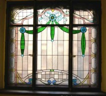 The restoration of the historical stained-glass window